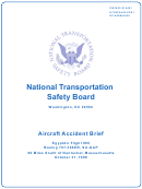 Aircraft Accident Brief Ntsb/aab-02/01 (Pb2002-910401): Egypt Air Flight 990, Boeing 767-366er, Su-Gap - National Transportation Safety Board Printable pdf