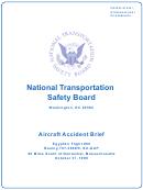Aircraft Accident Brief Ntsb/aab-02/01 (pb2002-910401): Egypt Air Flight 990, Boeing 767-366er, Su-gap - National Transportation Safety Board