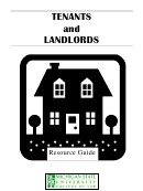 Tenants And Landlords Resource Guide - Michigan State University, College Of Law