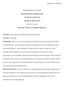 21 Code For Federal Regulation Parts 1305, 1311