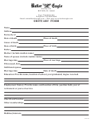 Sample Obituary Template