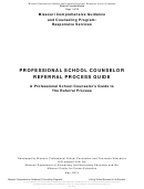 Professional School Counselor Referral Process Guide