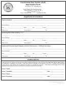 City Of Topeka Planning Department, Conditional Use Permit (cup) Application Form