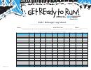 Kids' Mileage Log Sheet