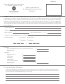 Form Ss-6080 - Disaster Relief Fundraising Financial Report Form - Division Of Charitable Solicitations And Gaming