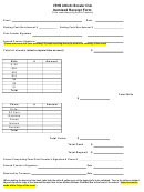 Vrhs Athletic Booster Club Itemized Receipt Form