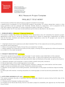 Bcc Research Project Template