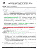 Form Tar 1601 - One To Four Family Residential Contract (resale)