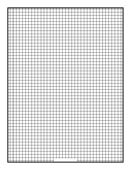 Grid Fifth-Inch Printable pdf