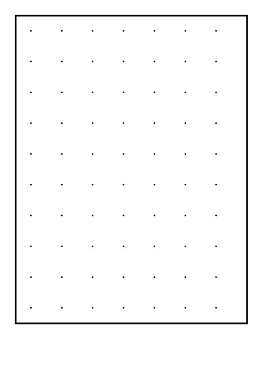 Dots One-Inch Printable pdf