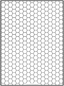 Hex Half-inch Graph Paper