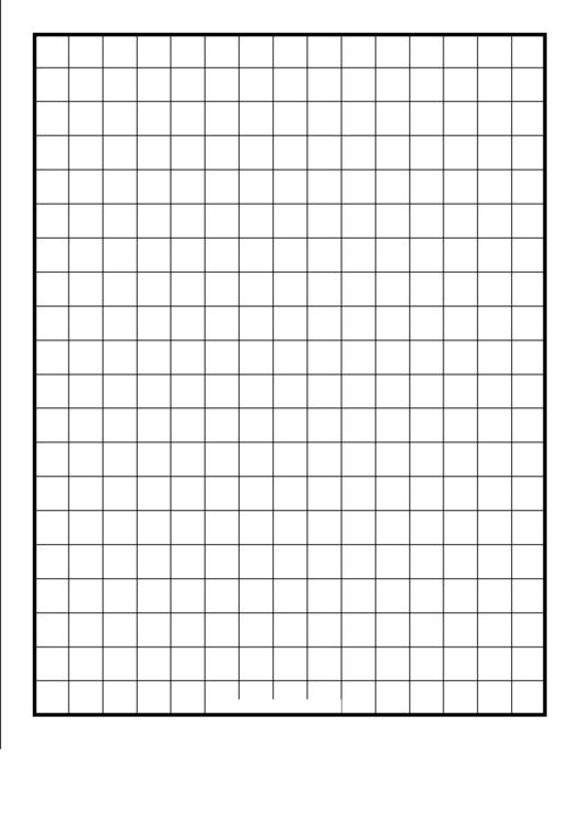 Grid Half-Inch Graph Paper Printable pdf