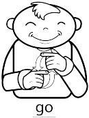 Sign Language - Go Sign