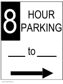 8 Hour Parking