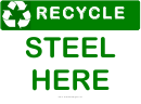 Recyclable Steel