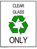 Recycleclearglass