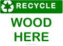 Recyclable Wood