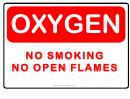 No Smoking Oxygen Alert