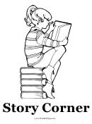 Story Corner Sign