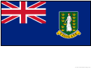 British Virgin Islands Flag Template