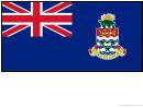Cayman Islands Flag Template
