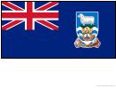 Falkland Islands Flag Template
