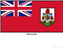 Bermuda Flag Template