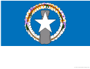 Northern Mariana Islands Flag Template
