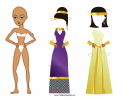 Roman Lady Paper Doll