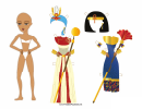 Egyptian Lady Paper Doll