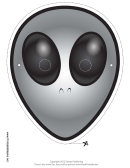 Alien Mask Template