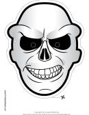 Skull Mask Template