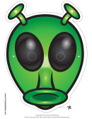 Alien Antenna Mask Template