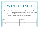 Winterized Sign