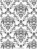 Crown (adult Coloring Page)