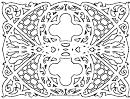 Ornate (adult Coloring Page)