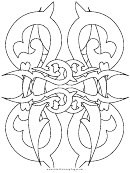 Thorns (adult Coloring Page)