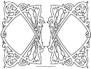 Gates (adult Coloring Page)