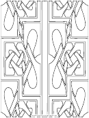 Coloring Sheet - Braided