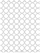 Spots (adult Coloring Page)