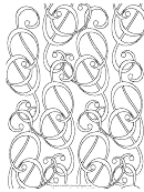 Music (adult Coloring Page)