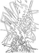 Coloring Sheet - Scribble