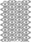 Coloring Sheet - Knotted