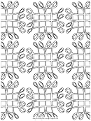 Grid (adult Coloring Page)