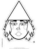 Gnome Outline Mask Template
