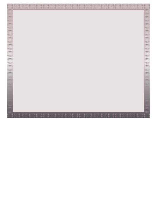 Decorative Border Paper Printable pdf