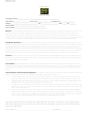 Sample Roller Derby Release Form