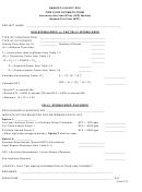 Fire Flow Construction Estimate Form - Henrico County Dpu