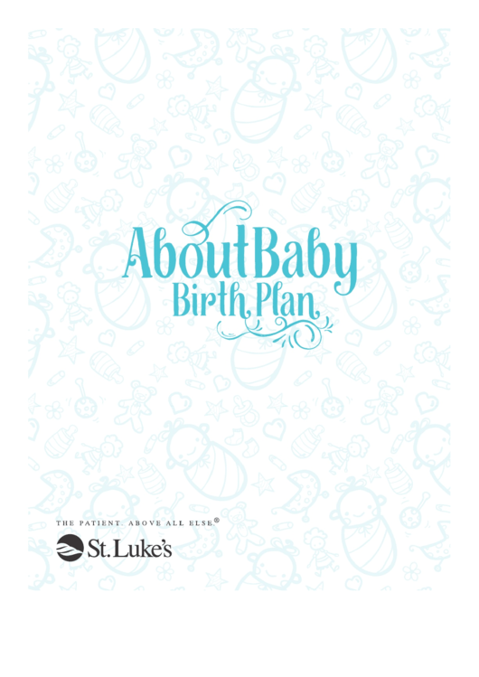 About Baby Birth Plan