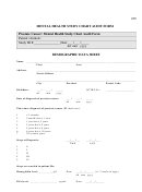 Mental Health Study Chart Audit Form